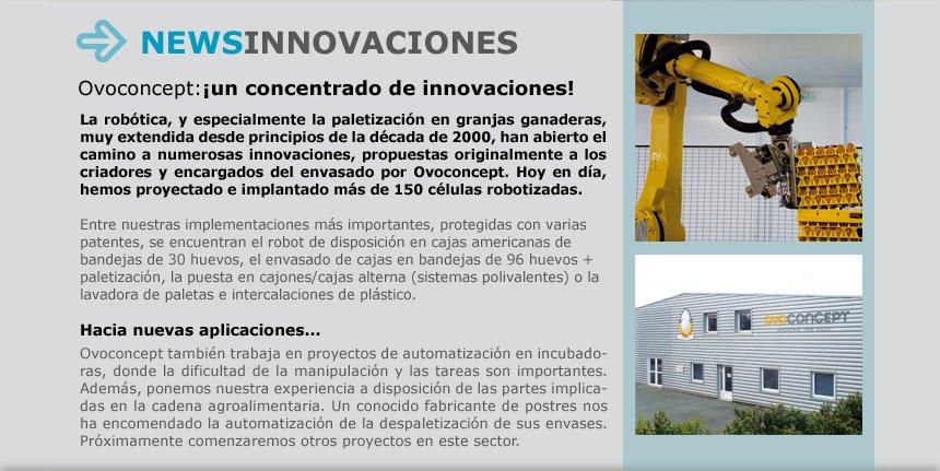 Ovoconcept:¡un concentrado de innovaciones!