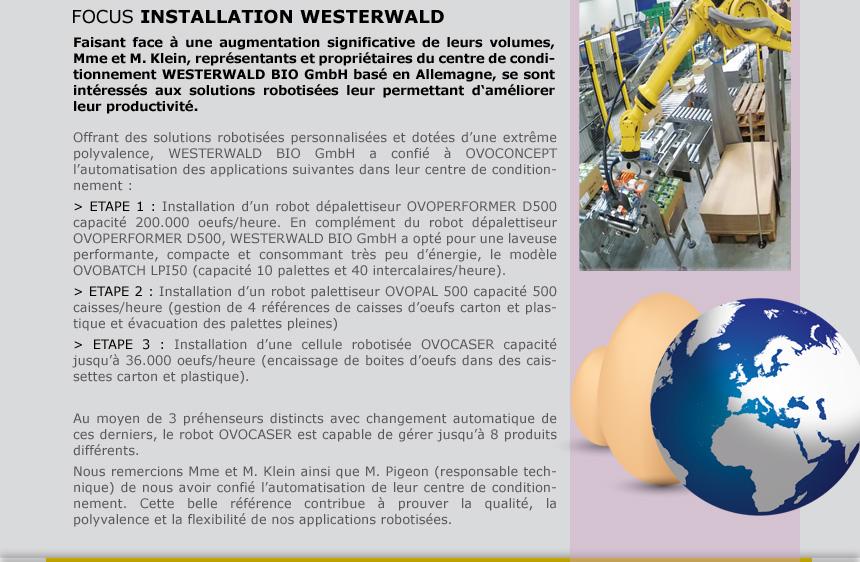 FOCUS INSTALLATION WESTERWALD