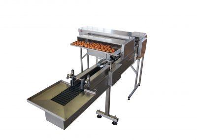 Calibreuse à pesée mécanique