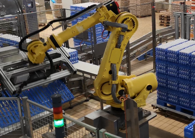 Automatisation alimentation laveuses